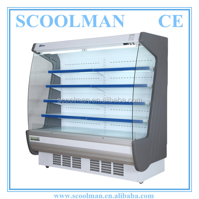 Supermarket Multideck Display Air Curtain Cooler