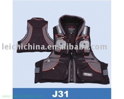 floating fishing vest J31