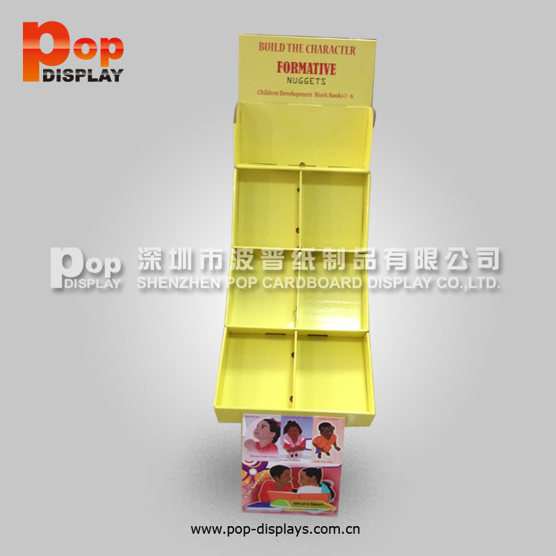 creative promotional fabric sample book display