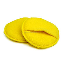 Microfiber Terry Foam Waxing Applicator Pads With Pocket