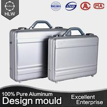HLW president luggage hard plastic briefcase