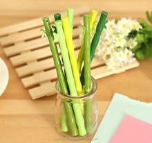 Creative Korea Stationery Green Cute Bamboo Gel Pen