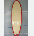qualified hot selling carbon epoxy resin for surfboards/sup boards with single face bamboo