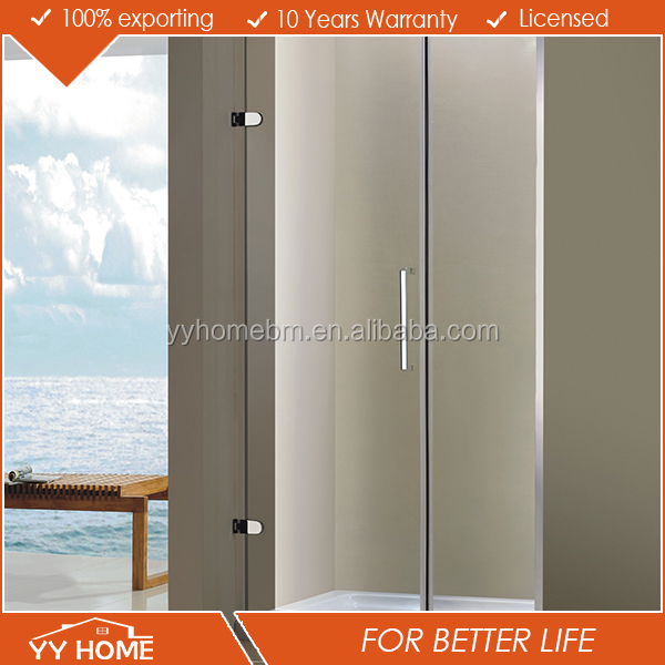 YY home Tempered Glass Shower Enclosure Shower Enclosure Free Standing Tempered Glass Shower Enclosure