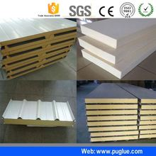 safe glue stainless steel sheet melamine adhesive for magnesium oxide board to expanded polystyrene foam composite panel