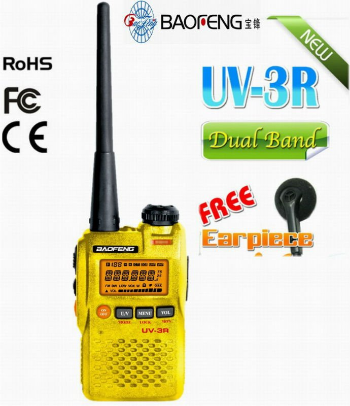 original baofeng UV-3R fm radio transmitter