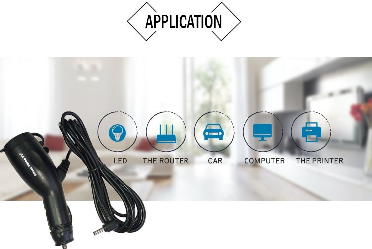Wholesale DC jack lead cable 12-24V Output Voltage qc 2.0 car charger