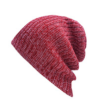 SHENGMING Red Fashion Popular Knit Womens Hats