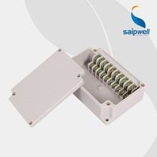 SAIP/SAIPWELL ABS IP66 75*110*43 electric Plastic Waterproof 10p Terminal Box