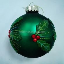 Best Price Plain Xmas Ball(FB-006) led solar christmas ball light manufactured in China