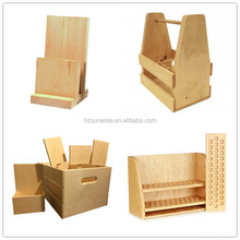 Custom make small wood material table top product display