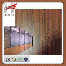 Decorative film PVC plastified metal sheets for office partition wall