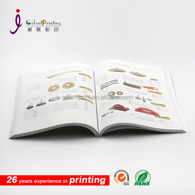 Black Cover Softcover Professional Custom Perfect Book Printing , Printed Book