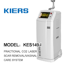 Fractional Co2 laser scar removal/ USA Coherent Metal Tube Medical RF co2 fractional laser cosmetic laser machine