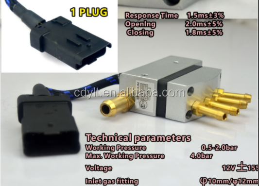 Manufacturer supply discount lpg 4cyl fuel injector rail