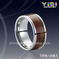 Men tungsten wood ring in hawaii, jewelry Women and animal hot sex