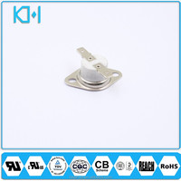130 Degrees 250V 10A Ceramic Bimetallic Thermostat Normally Closed Thermal Switch