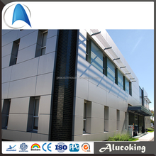 PE/PVDF coating 4MM aluminum composite panel , 4mm acp good price, exterior aluminum composite panel