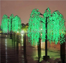 energy saving led artificial curly willow branches