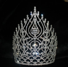 8 inch tall Pageant crown for kids