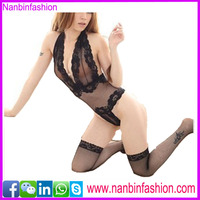 new arrival fashion sexy back see through sex babydoll