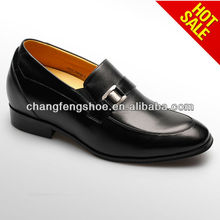 2015 Italian famous Design invisible height elevator men comfortable dress shoes
