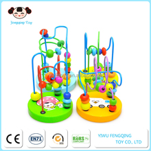 Chinese Toy Manufactures Wholesale Wooden Toys Rocking Beads