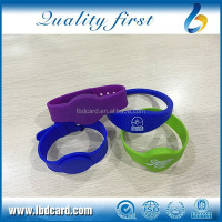 125KHz Closeloop Sillicone TK4100 EM4200 RFID Wristband/Bracelet for Parking