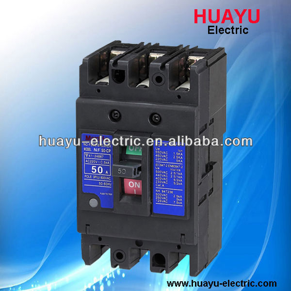 NF-CP series 3P 50A Mitsubishi MCCB/mould case circuit breaker