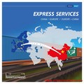 Inspection service & Train transport Courier from China to France --skype:joelim37