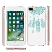 For iPhone 7 Plus Crystal Clear Hybrid Smart Phone Back Case Cover for iPhone