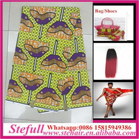 Stefull original african wax print new design 100 cotton african attire