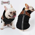 Zipper Pet Jacket Cloth Water Resistant D ring Vest Dog Clothes Pet Clothes Winter