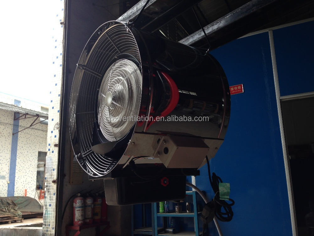 Guangzhou factory stainless steel industrial wall mounted fan for water cooling