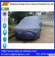 170T PU300 blue polyester high quality car cover