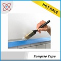 Wide adhesive 2 inch painters tape with plastic