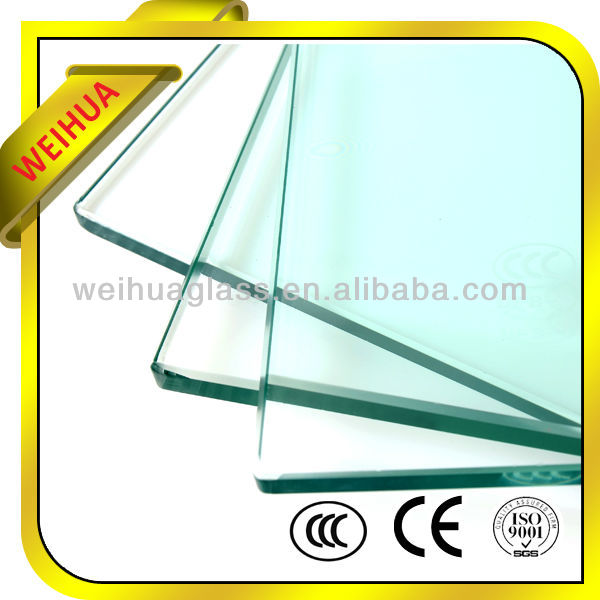 Safety flat tempered glass flat pack decking
