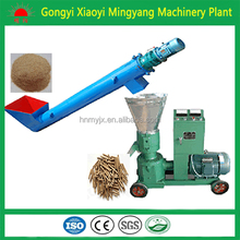 CE approved flat die biomass pellet making machine 008618937187735