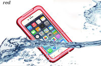 2014 new design Waterproof Case for iPhone 6 , for iphone 6 plus waterproof case