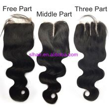 8a Grade Hair 3 Way Part Closure Brazilian Body Wave Closure