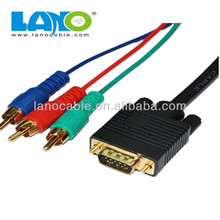 Popular product! High end 3 rca to 3rca cable vga rca