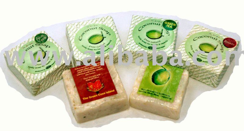 Natural Scented Coconut Spices Herbal Soaps