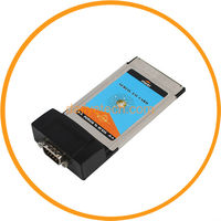 PCMCIA to RS232 Serial DB9 I O Card Adapter for Notebook PC from dailyetech