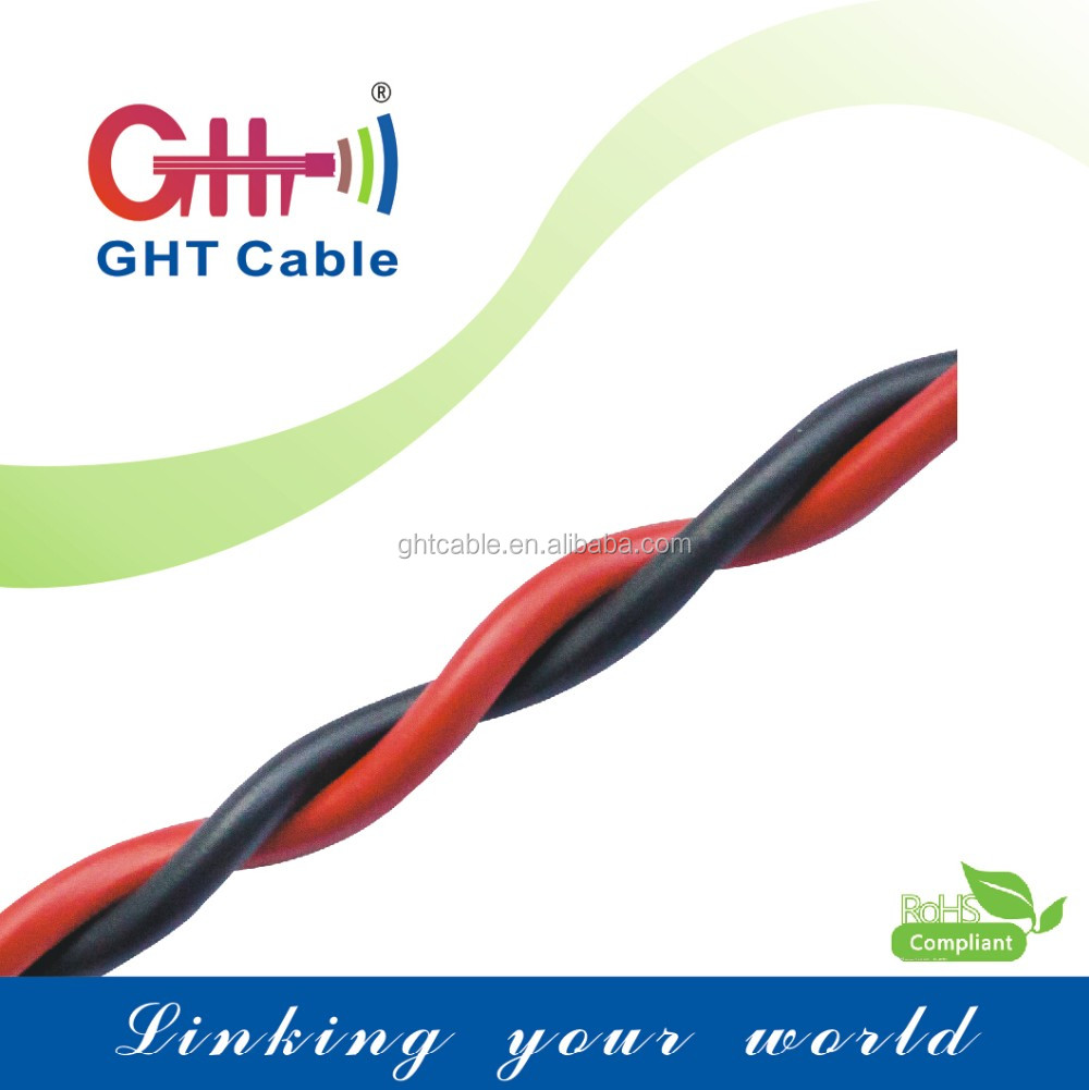 Manufacturer Speaker Cable Red and Black wire Stranded conductor with certifications