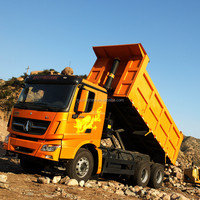 Using Mercedes Benz Technology cheapest price Beiben 6x4 mining sand tipper truck capacity