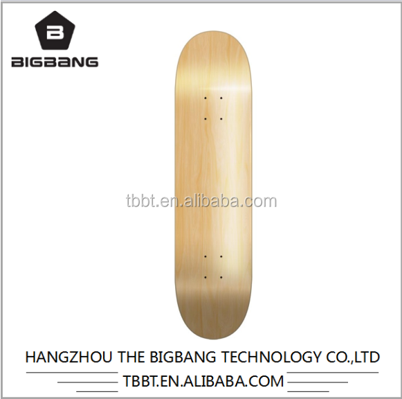 BIGBANG hangzhou hover board 7ply wood blank skateboard deck wanted wholesale uk