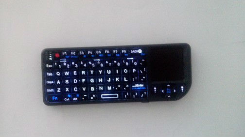 2.4G Wireless Gaming Keyboard with Touchpad for Galaxy s3 Android TV Box for PS3 XBOX 360 PAD