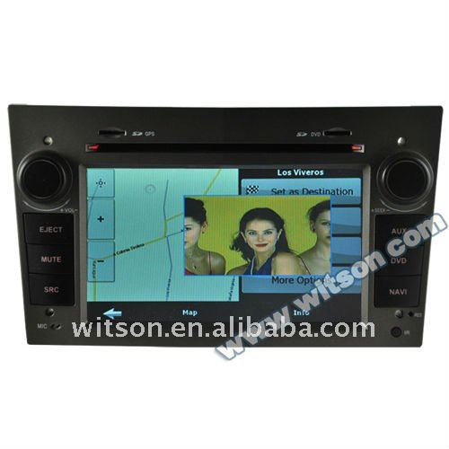 WITSON opel corsa car cd mp3 player with SD card for Music and Movie