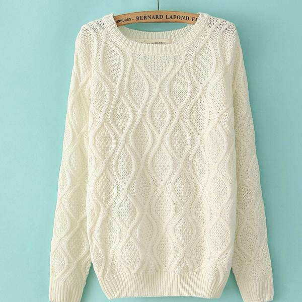 Womens Knit Sweater Patterns : Ms50400w femmes pull en tricot, Pull en cachemire a tricoter motif, Tricote a...