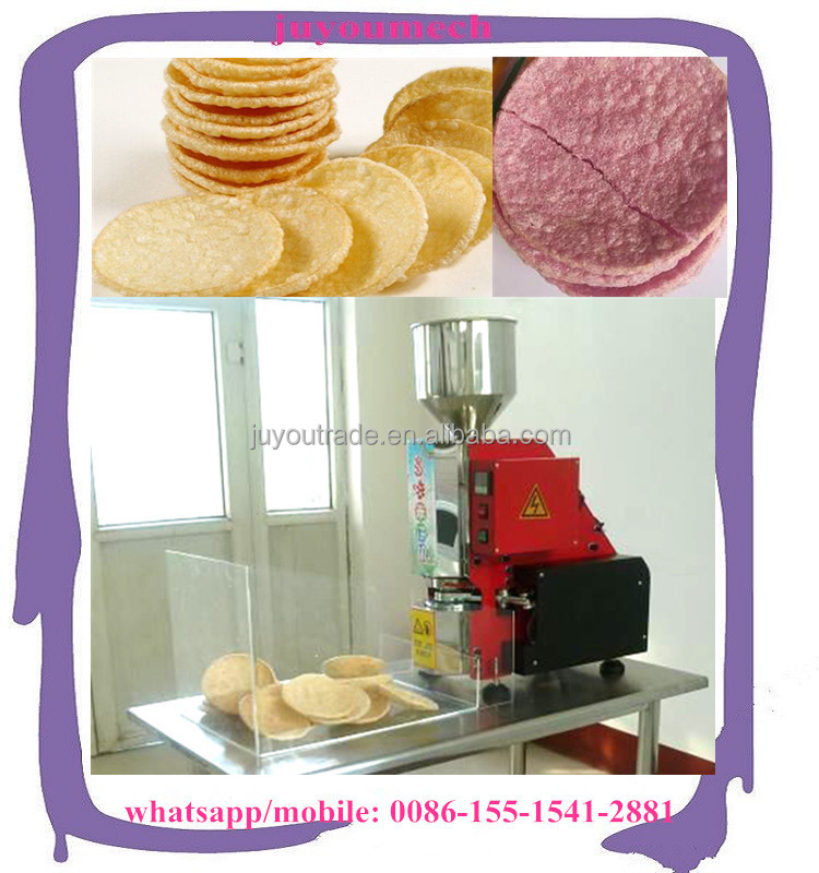 Small Business Newly crispy black rice cakes making machine gold supplier price